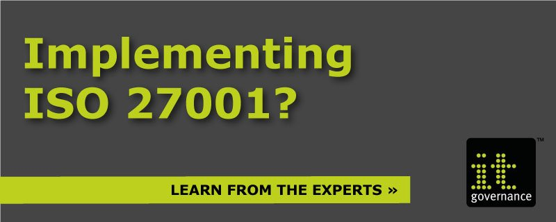 Implementing ISO 27001? Then learn from the experts.