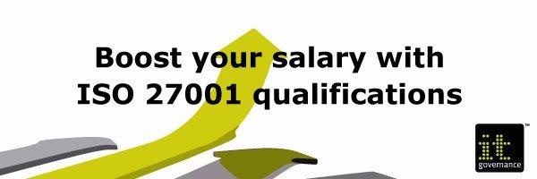 Boost-salary-ISO27001