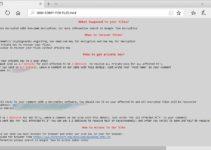 SamSam ransomware note