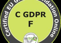Certified EU General Data Protection Regulation Foundation (GDPR) Online Training Course