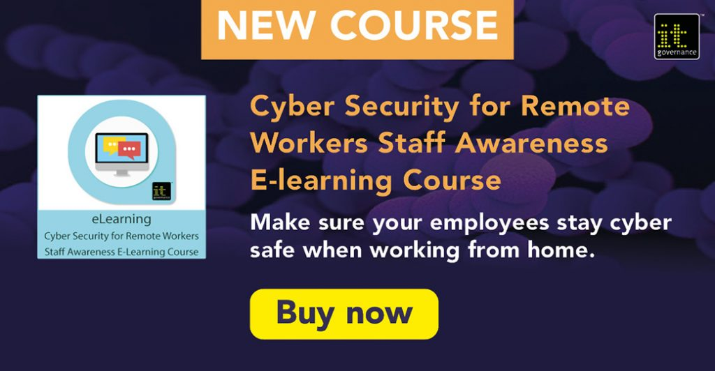 Avoid attack with Cyber Security for Remote Workers E-learning Course