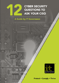 12 Cybersecurity Questions to Ask Your CISO