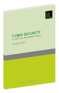 Cyber Security – A critical business issue
