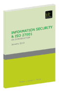 Information Security and ISO 27001: an introduction
