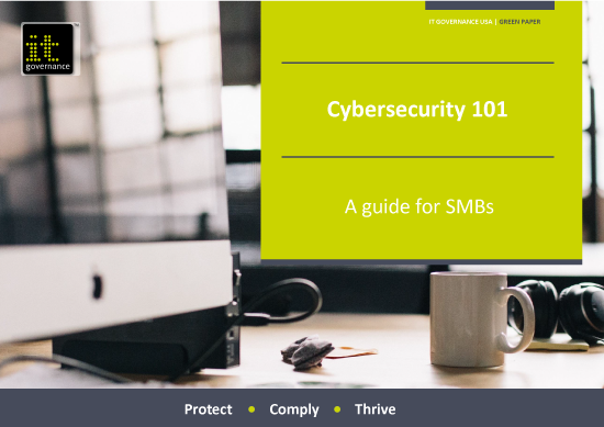 Free PDF download: Cybersecurity 101 – A guide for SMBs