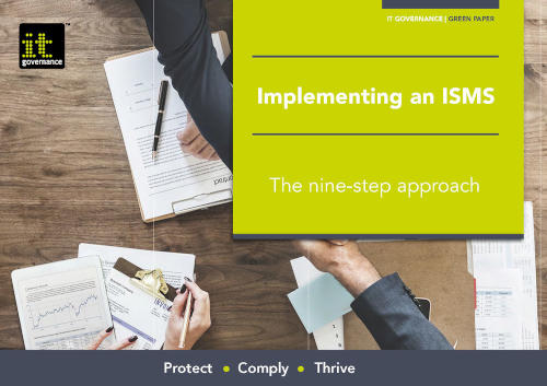 Implementing an ISMS – The nine-step approach