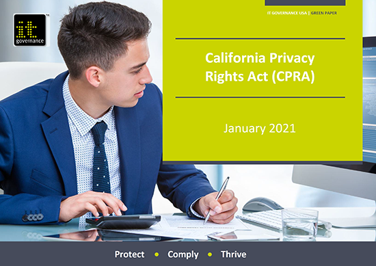 California Consumer Privacy Act (CCPA) - free green paper