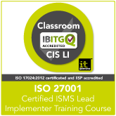 ISO27001 Certified ISMS Lead Implementer Training Course