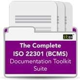ISO 22301 BCMS Toolkit - The Complete Suite