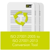 ISO 27001 2005 to ISO 27001 2013 Conversion Tool