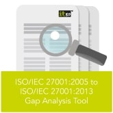 ISO/IEC 27001 2005 to 2013 Gap Analysis Tool (Download)