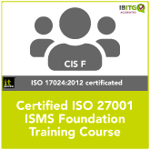 Certified ISO 27001 ISMS Foundation Online Training Course