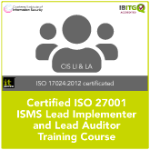 Certified ISO 27001 ISMS Lead Implementer and Lead Auditor Online Combination Training Course