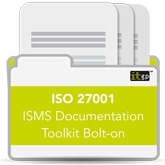 ISO 27001 Toolkit Bolt-on