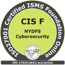New York DFS Cybersecurity & ISO27001 Certified ISMS Foundation Online