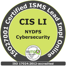 New York DFS Cybersecurity & ISO27001 Certified ISMS Lead Implementer Online