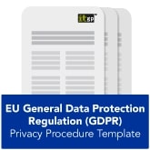 EU General Data Protection Regulation (GDPR) Privacy Procedure