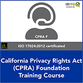 California Consumer Privacy Act (CCPA) Foundation Online Training Course