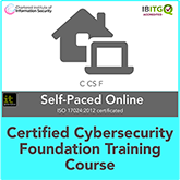 Certified Cybersecurity Foundation Distance Learning Training Course