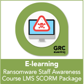 Ransomware Staff Awareness E-learning Course – LMS SCORM Package