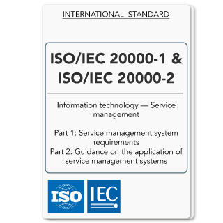 ISO20000 (ISO 20000) IT Service Management (Both Main Parts - Hardcopy)