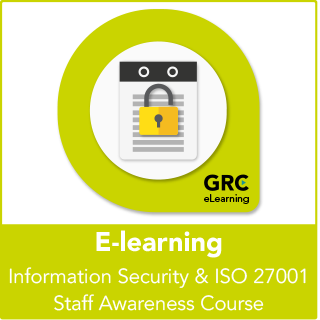 Information Security & ISO 27001 Staff Awareness E-Learning Course