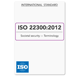 ISO22300 (ISO 22300) Societal Security Terminology (Hardcopy)