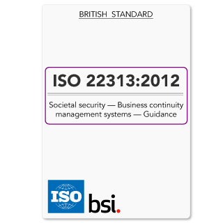 ISO22313 (ISO 22313) BCMS Guidance