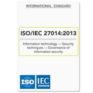 ISO27014 (ISO 27014) Governance of Information Security