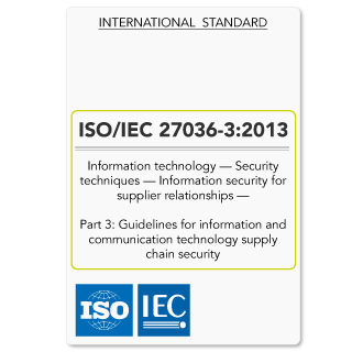 ISO27036-3 (ISO 27036-3) Guidelines for ICT Supply Chain Security