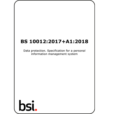 BS10012 (BS 10012) PIMS Requirements (Download)