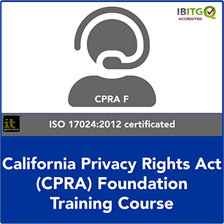 California Consumer Privacy Act Foundation Online Training Course
